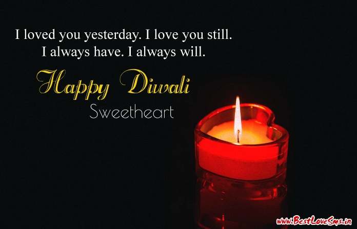 Happy Diwali Love Quotes