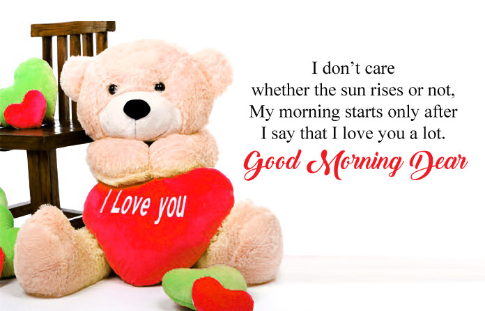 Good Morning My Love Wishes Messages With Quotes Images For Lovers