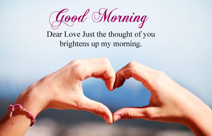 Good Morning Status Picture for Love