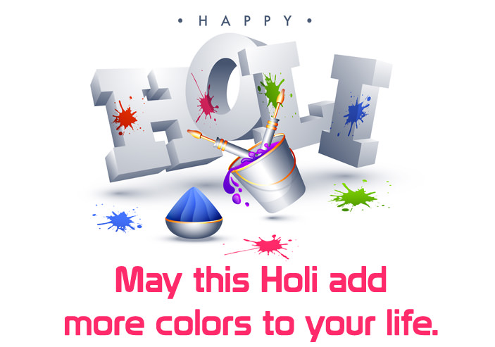 Holi Quote Images