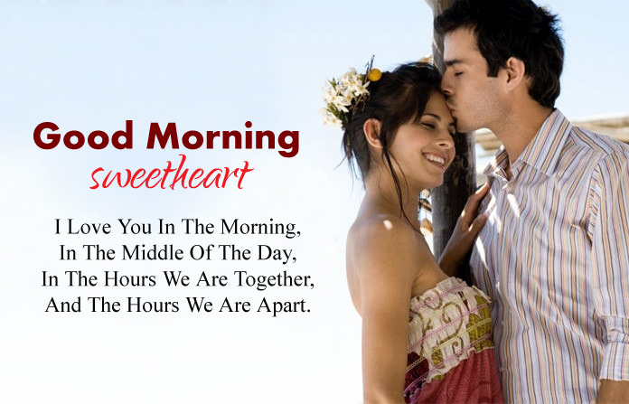 I Love You GOOD Morning Wishes for BF GF