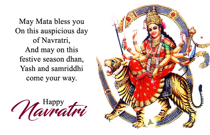 Happy navratri wishes in hindi english 2018jai mata di shayari images jai mata di image m4hsunfo