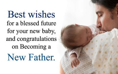 Congratulation Messages on Happy First Fathers Day