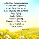 Beautiful Poem on Nature in English