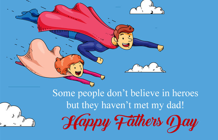 Real Hero Quotes on Fathers Day