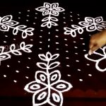 Dot Rangoli Design