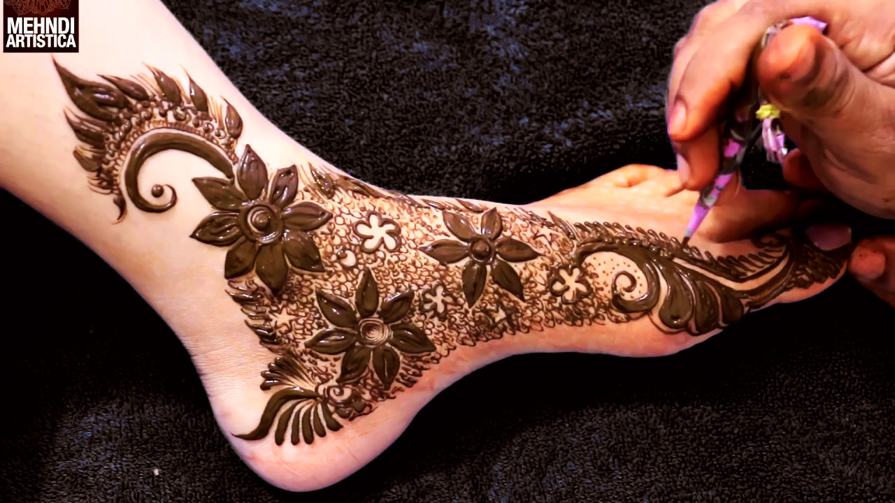 Full vali mahendi design