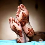Arabic Mehndi Designs for Legs