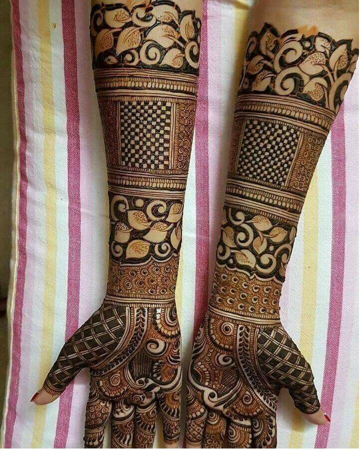 Beautiful Dulhan Mehndi Design