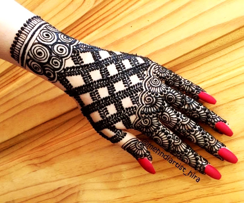 Beautiful Karwa Chauth Mehndi Designs