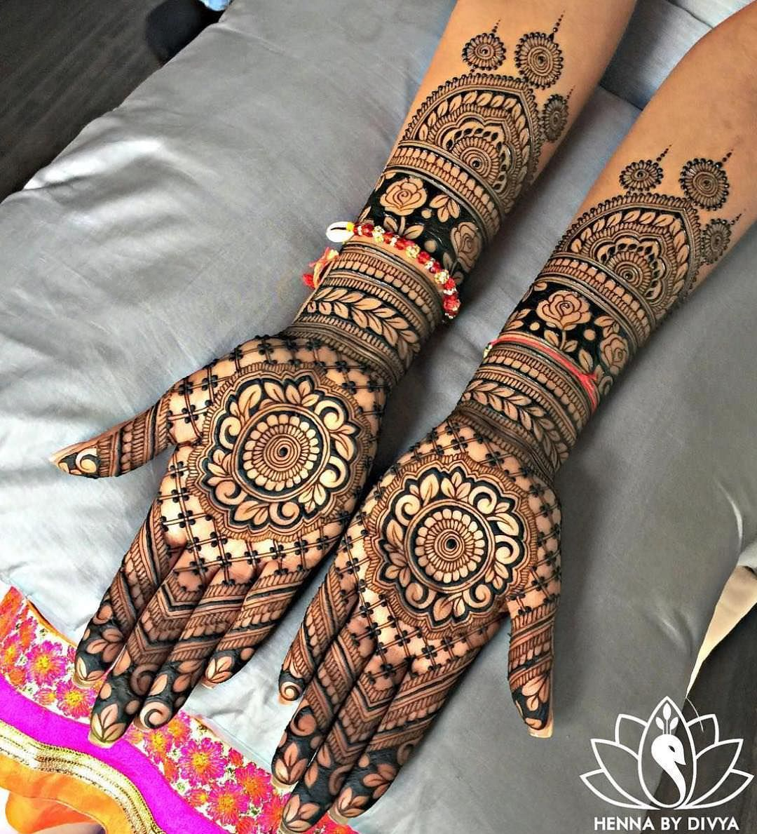 Best Bridal Mehndi Designs For Full Hands