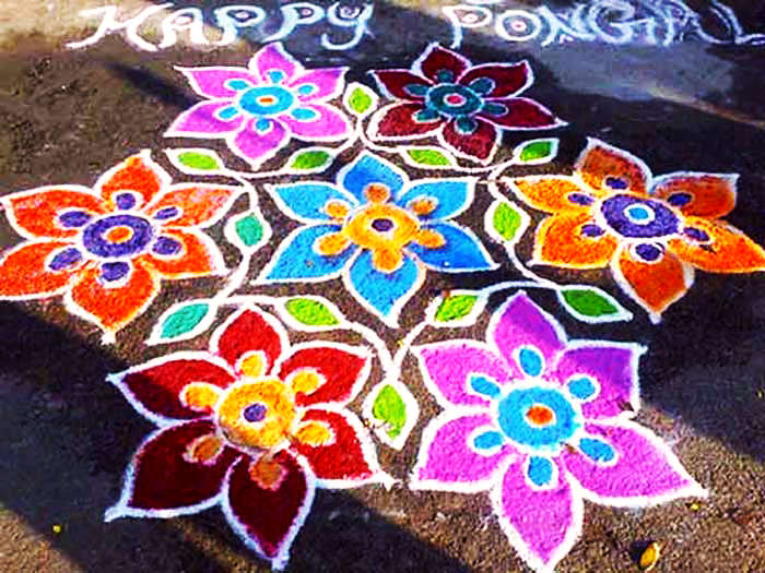 Big Dot Rangoli Designs