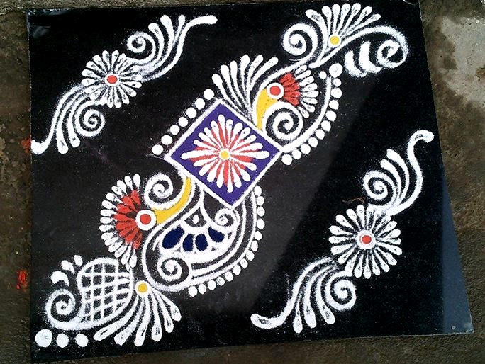 Border Rangoli Patterns