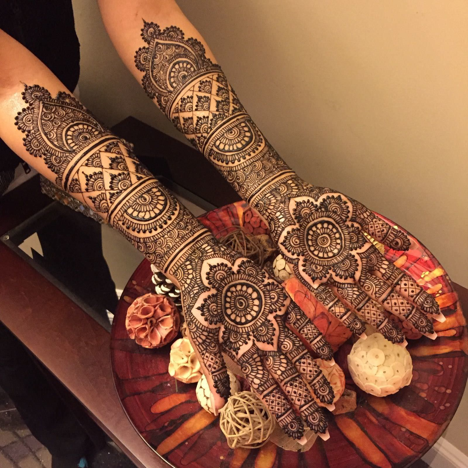 Full Hand Bridal Mehndi Designs HD