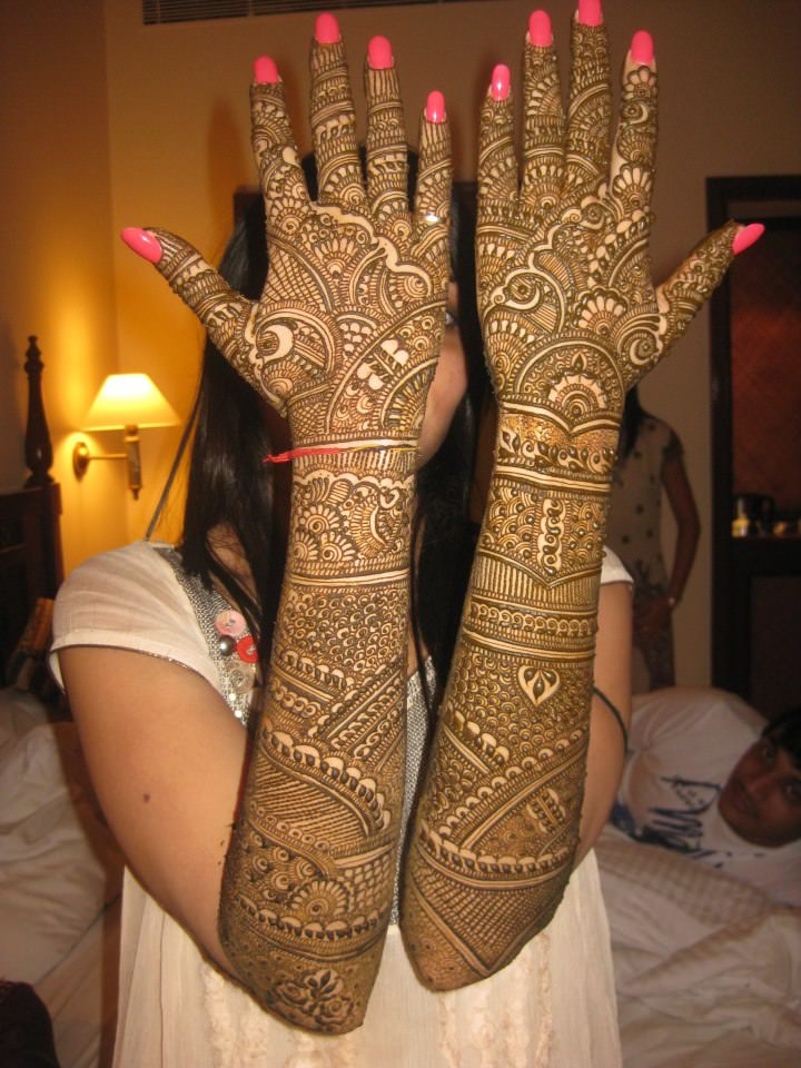 Indian Bridal Mehndi Designs For Full Hands