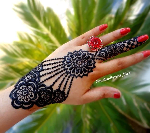 Latest Karwa Chauth Mehndi Designs