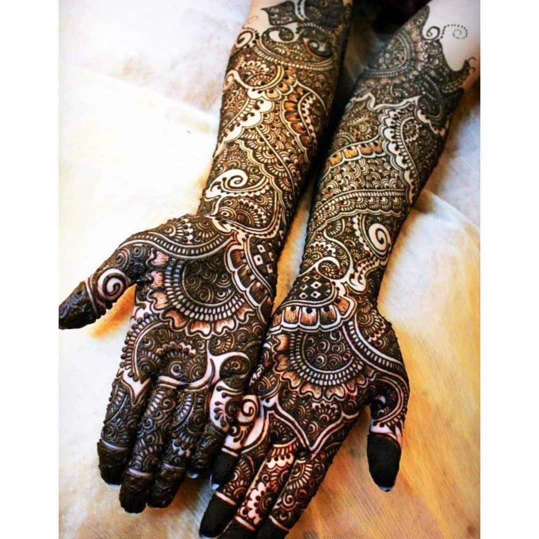 Marriage Mehndi Designs For Hands