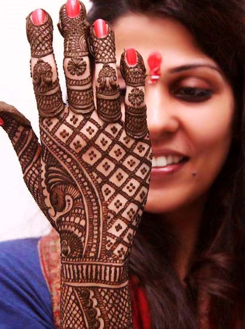 Mehandi Designs for Karva Chauth