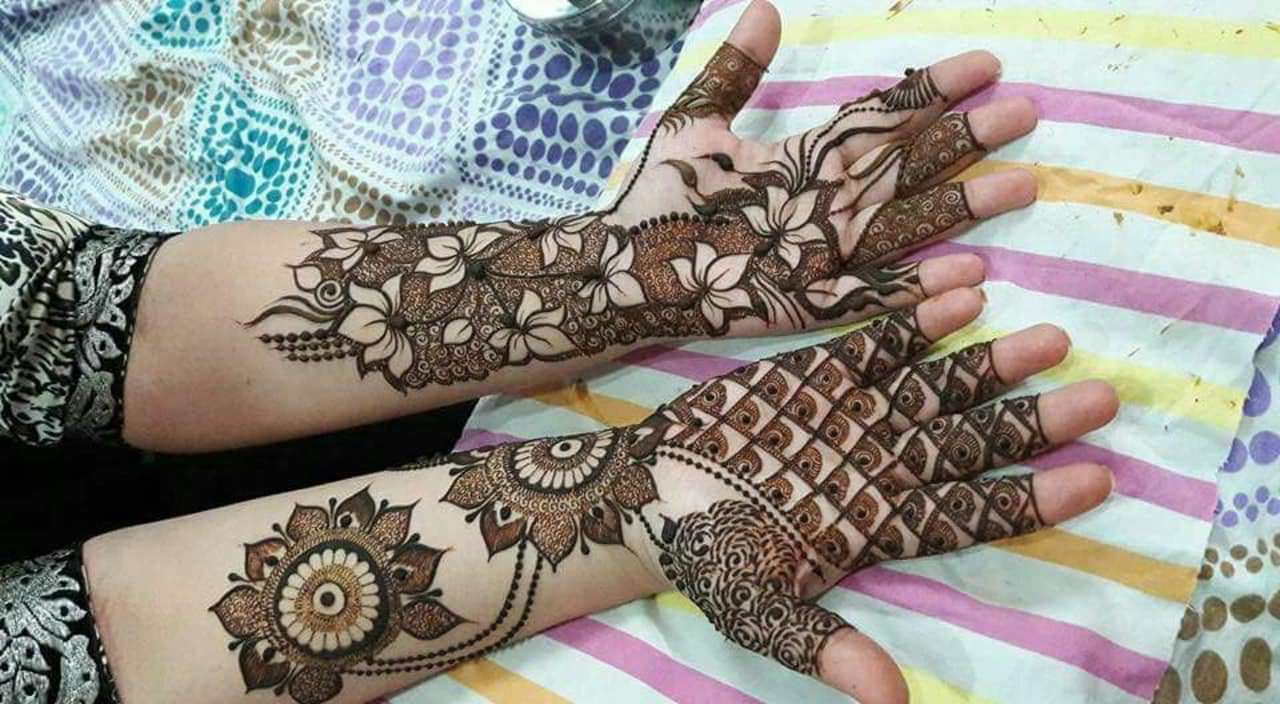 Modern Bridal Mehndi Designs for Hands