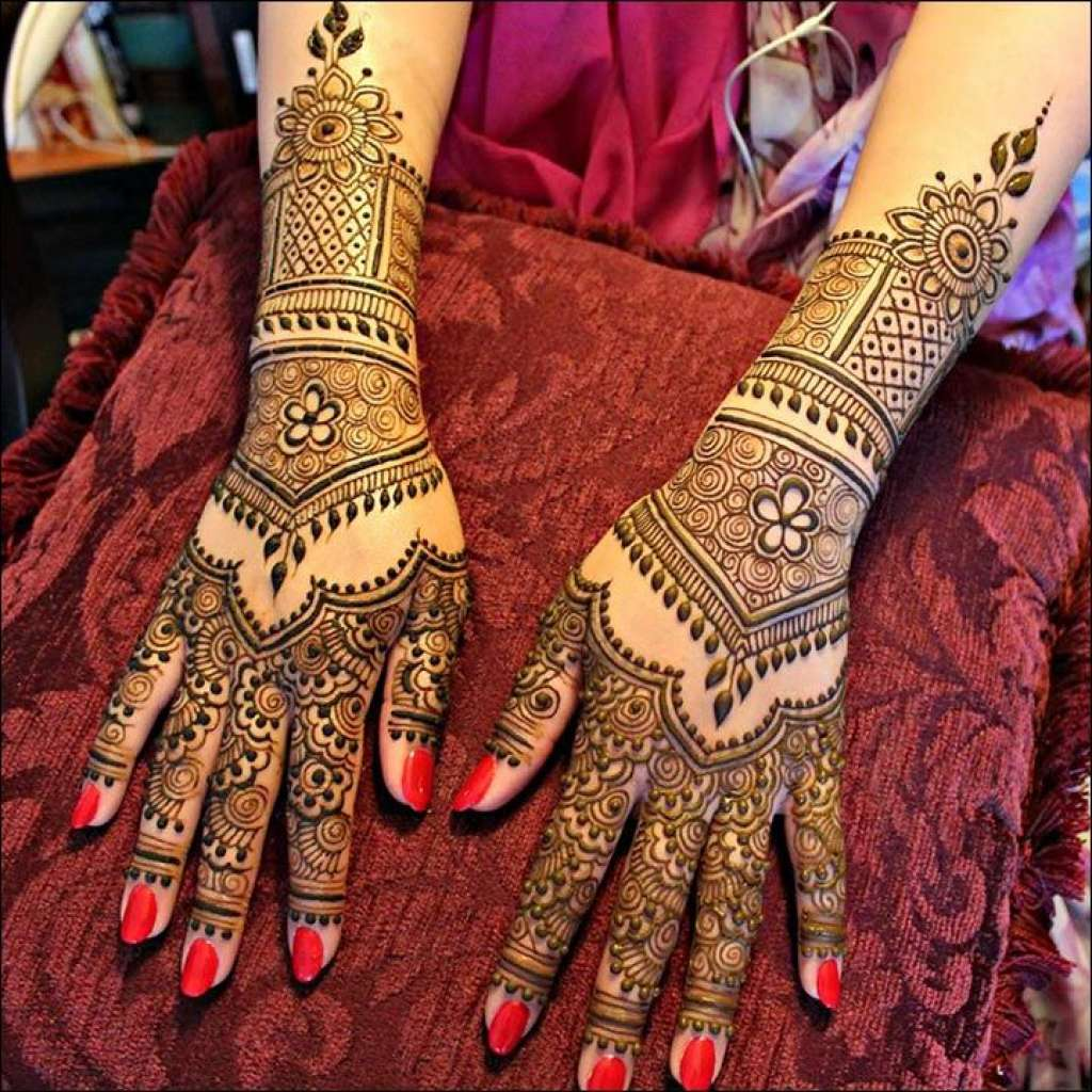 Rajasthani Mehndi Designs For Hands