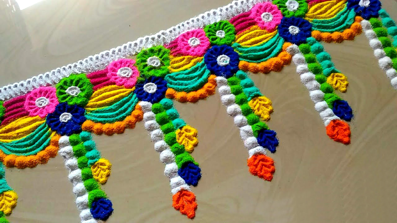 Rangoli Borders for Door