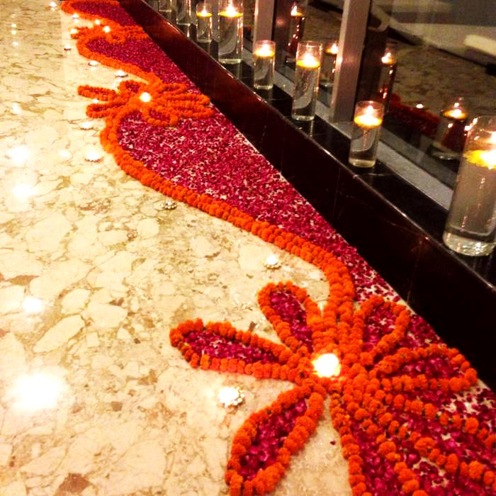 Side Border Rangoli Designs Images