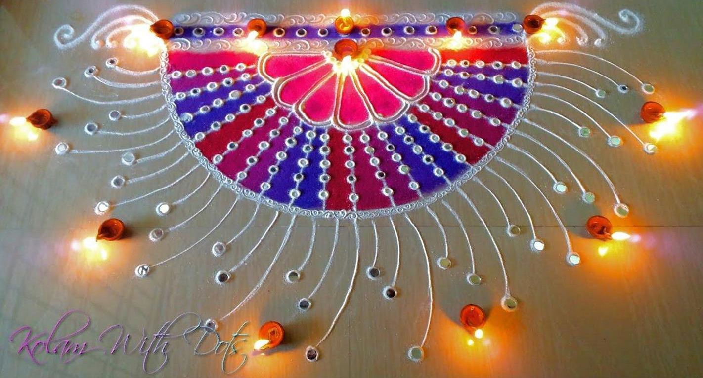 Swagat Rangoli Designs for Door