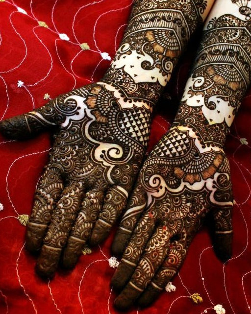 Wedding Mehndi Designs for Bride