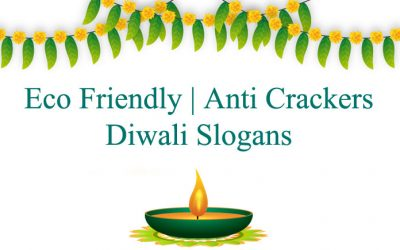 Eco Friendly and Anti Cracker Diwali Slogans in Hindi