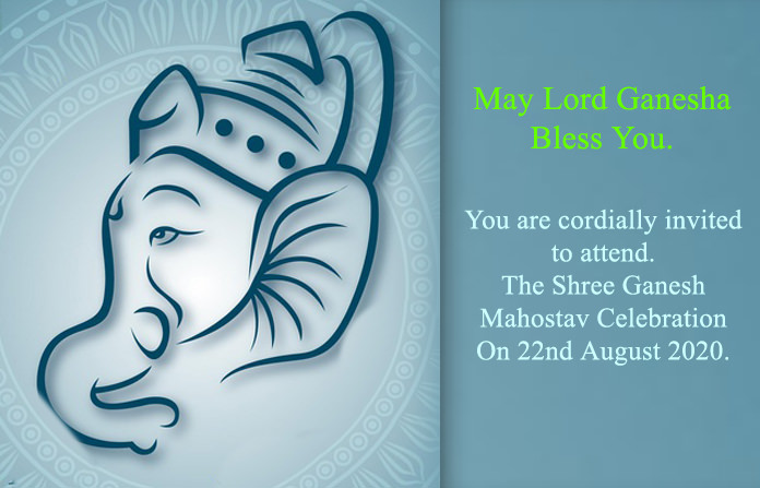 May Lord Ganesha Bless You Card